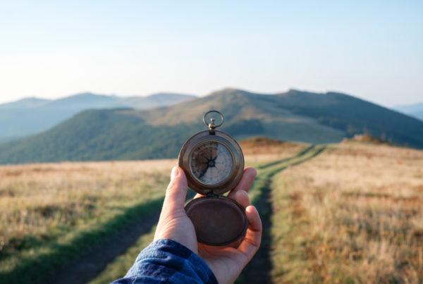 Příroda a kompas - Direct blog