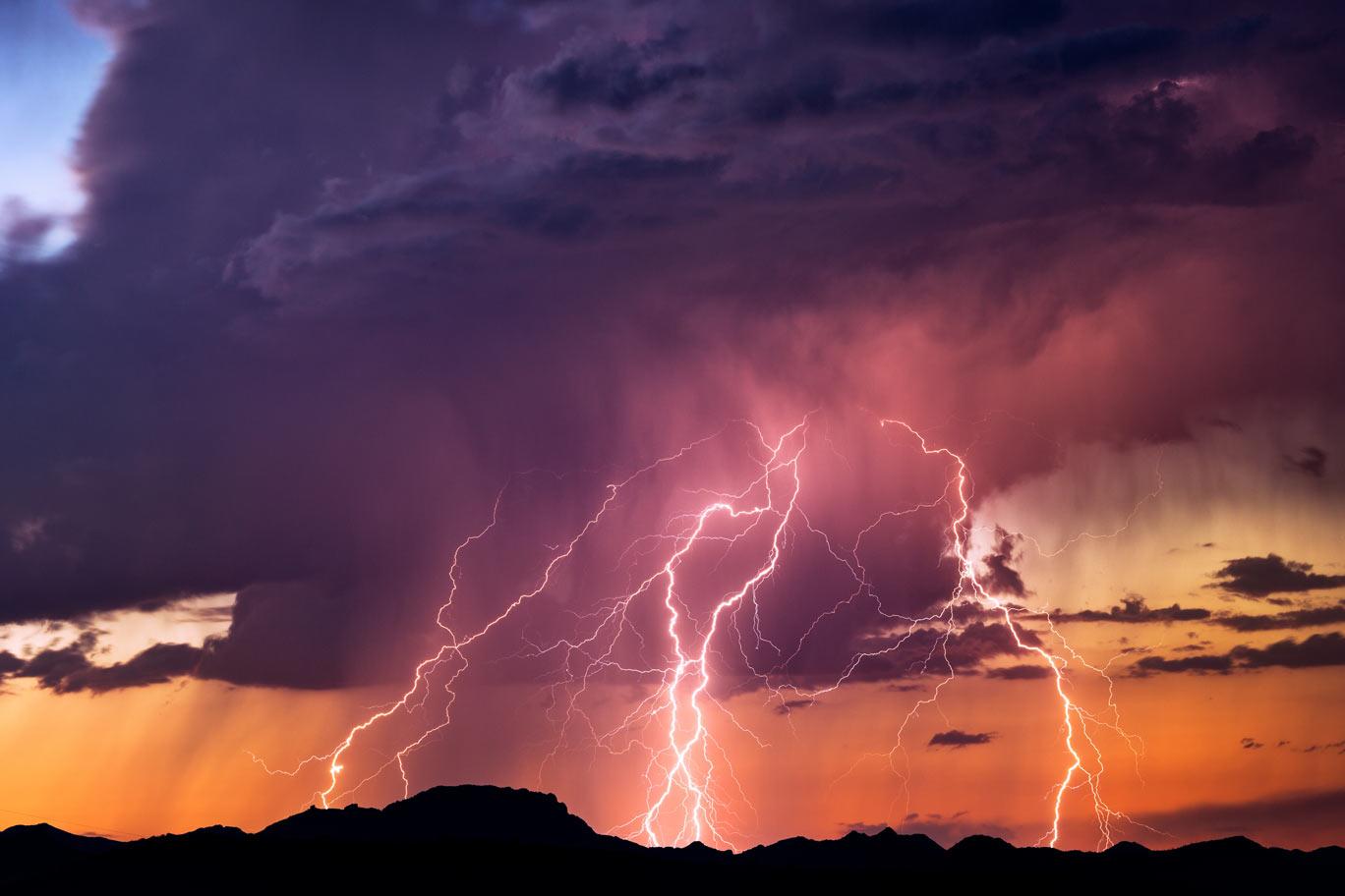 Bouřka a blesky